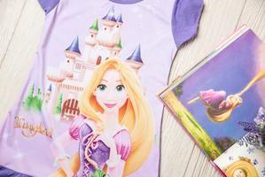 Rapunzel Princess Night Gown/Shirt PJ's 1