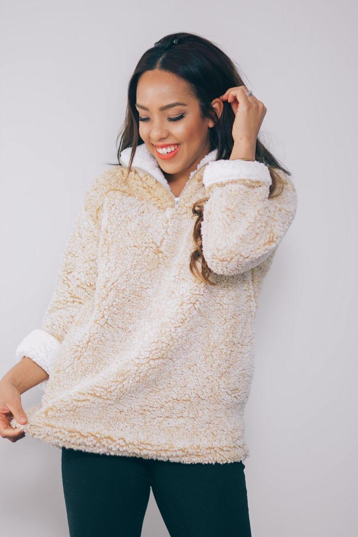 Get Cozy Fleece Pullover