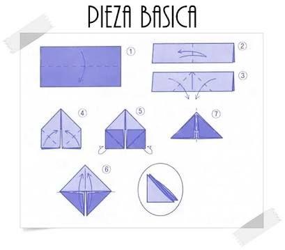 Resultado De Imagen Para Tutorial Origami 3d Paso A
