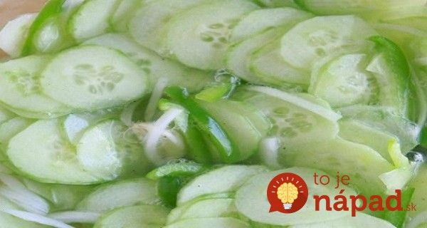 Zázračný uhorkový šalát: Znižuje cholesterol a vysoký tlak!