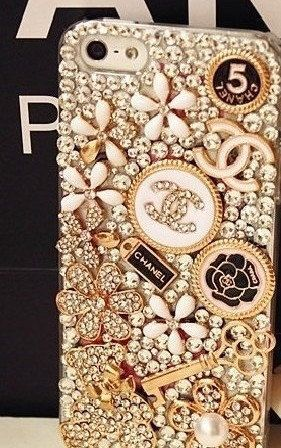 New fashion Handmade Crystal Bling iphone 4 case iphone by DIYjob, $28.99