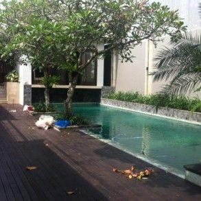 Villa Chandra for long term rental, 3 bedrooms at Umalas Bali. See villa details on http://www.balilongtermrental.com/villa-chandra-at-umalas/