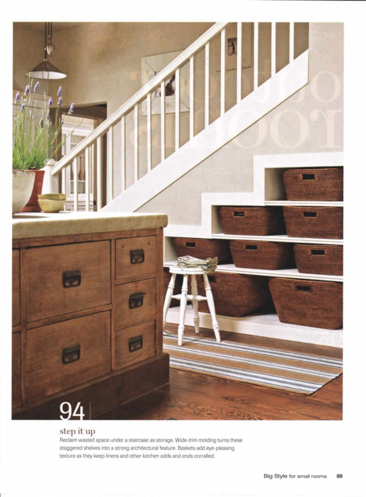 nice under stair storage