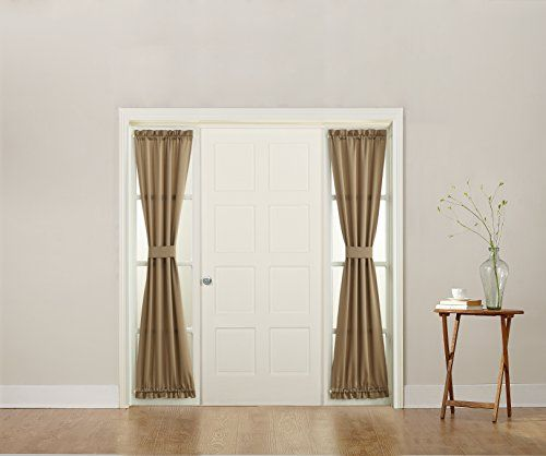 The 25 Best Sidelight Curtains Ideas On Pinterest Front Door Curtains Door Window Covering