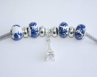 Eiffel Tower Charm Bracelet - Three C Jewelry