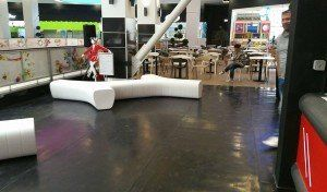 Braila Mall shopping mall Romania  #foodcourt #shoppingmall #contractfurniture #bdscontrcat