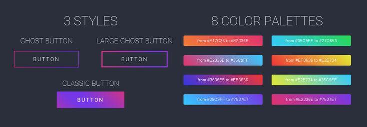 Gradient Buttons (Buttons)