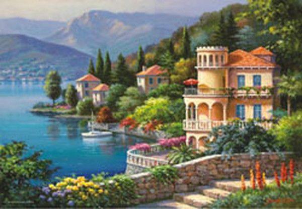 D&R - Kültür, Sanat ve Eğlence Dünyası Göldeki Villa / Lakeside Villa 3915 2000 Parça Puzzle