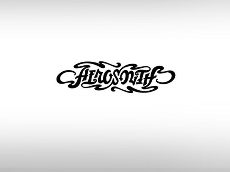 Aerosmith Ambigram logo