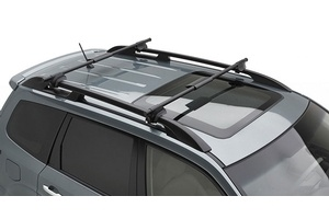 """2013 #Subaru #XV #Crosstrek Round Crossbar Kit 48"""". Wider and more rigid bars have a universal round profile that allows the use of numerous attachments. Also compatible with most Genuine Subaru roof carriers. MSRP: $375.00 #subaru #parts #accessories"""