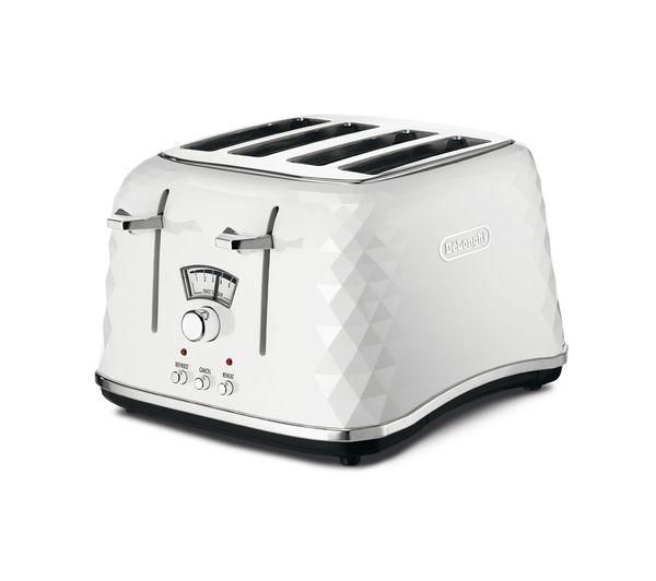 Brillante CTJ4003.W 4-Slice Toaster - White