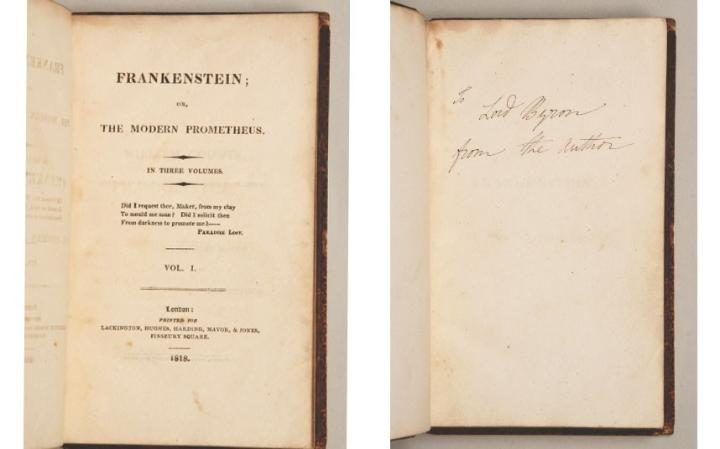 frankenstein or the modern prometheus analysis english literature essay Frankenstein and how to read literature like a professor analysis essay  in  mary shelley's frankenstein or the modern prometheus, the novel is based on.