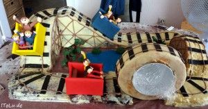 Achterbahn Torte