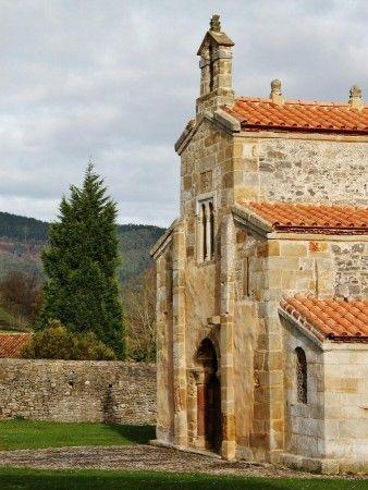 Prerrománico Iglesia de San Salvador de Valdediós en Asturias,  Spain