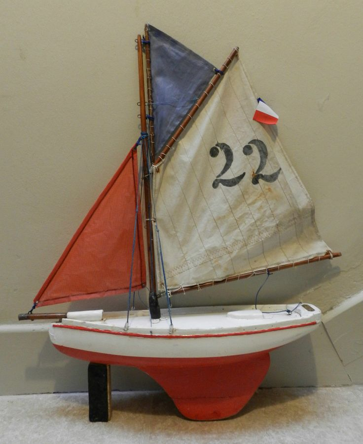 1080 best images about pond yachts model boats on pinterest antiques english and models - Voilier de bassin ancien nanterre ...