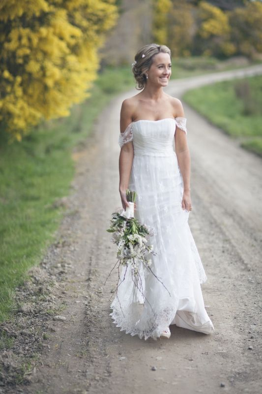 Love this dress! #chantilly #lace #bride Image by I do Photography.
