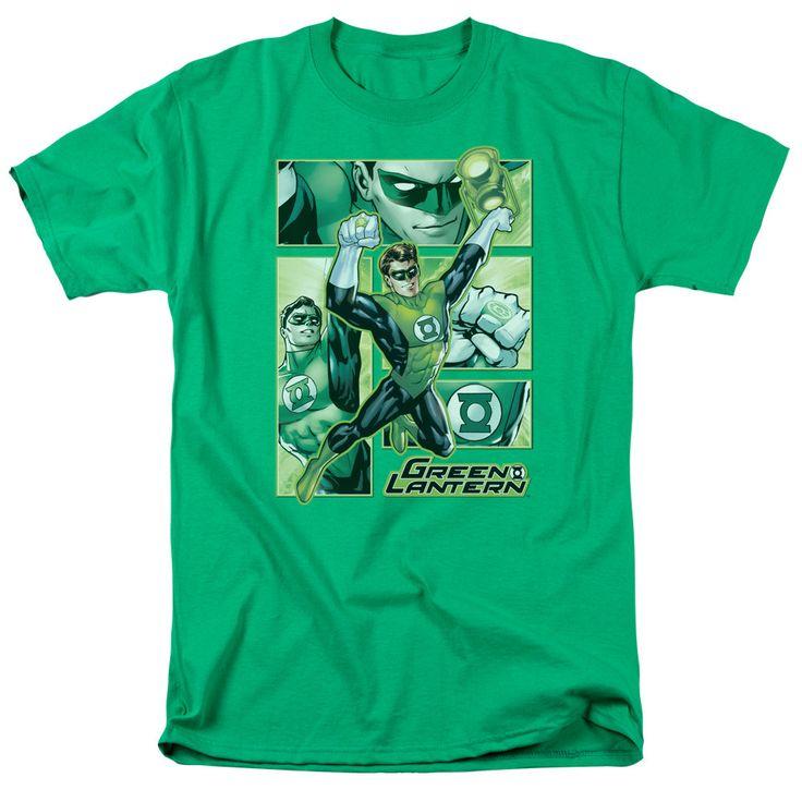 Green Lantern: Green Lantern Panels T-Shirt