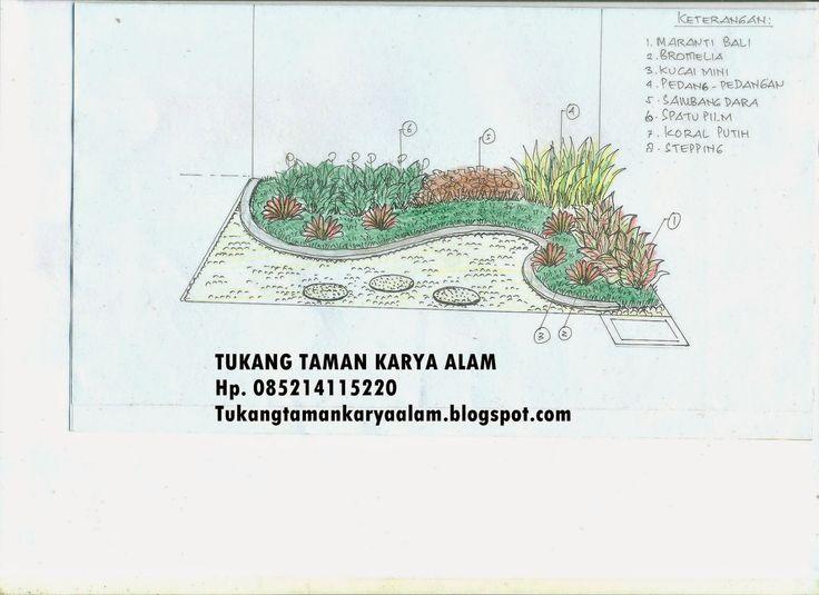Jasa Tukang Taman Desain Taman Dekorasi Taman Taman Kering Taman