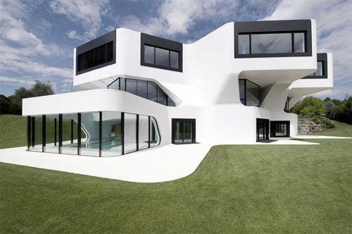 Красивые и необычные дома-30