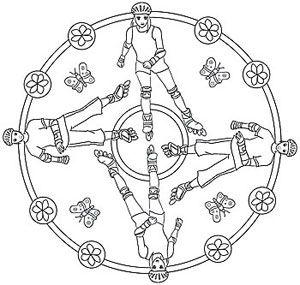 Rollschuhlaufen - Mandala Sport