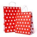Polka Dot Carrier Bag