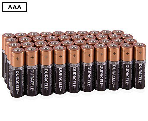 Duracell MN2400 AAA Alkaline Duralock Batteries- 40 Pack