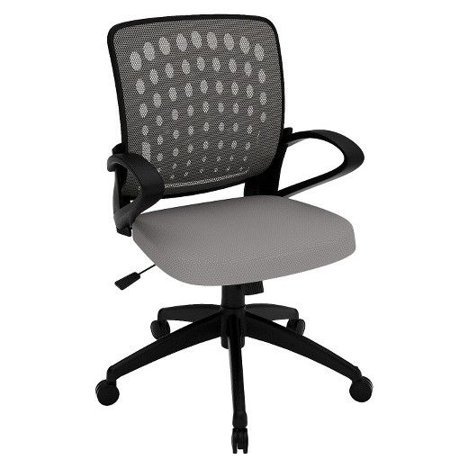 <p>This Z-Line Design task chair features a contoured seat and back in orange. The back is mesh and air seat cushion are there for ultimate comfort. The pneumatic seat hight adjustment makes it easy for people of all sizes. It has a durable 5 star black finished base and a butterfly seat plate for durability. The dual wheel carpet casters allow for easy mobility.</p>