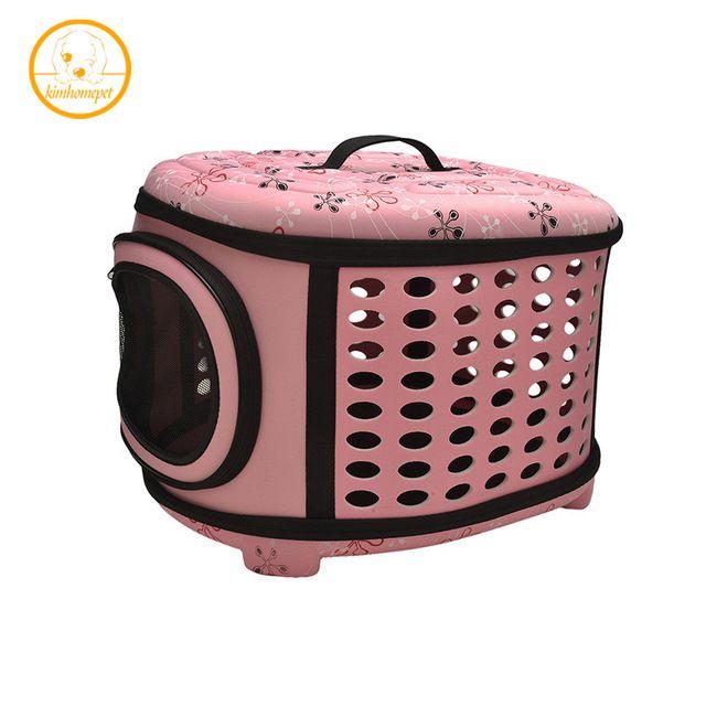 Cópia da flor Saco de Viagem Dobrável Portador de Pequenos Animais de Estimação cães Gatos Gaiola De Viagem Dobrável Crate Tote Bolsa PA11