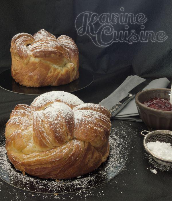 Karine Cuisine: La brioche feuilletée à la fleur d'oranger