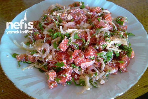 Çökelek Salatası (Yöresel)