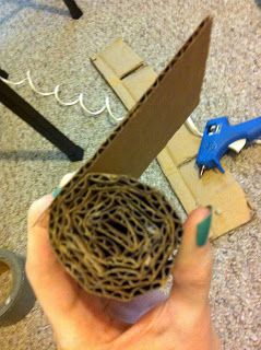 evladylrebmik: DIY   Cat Scratching Post