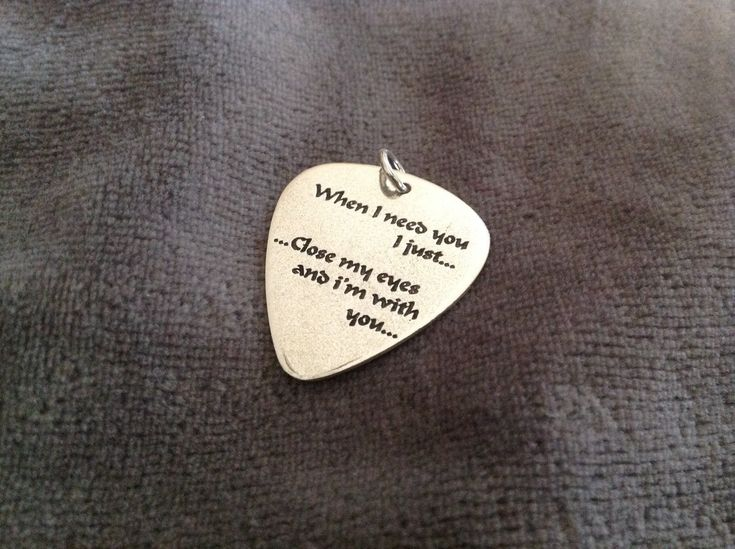 Special Offer for a Special Valentine Gift.When i need you.....  Handmade silver guitar pick,from 42,now only 30 euros! by art1jewel on Etsy