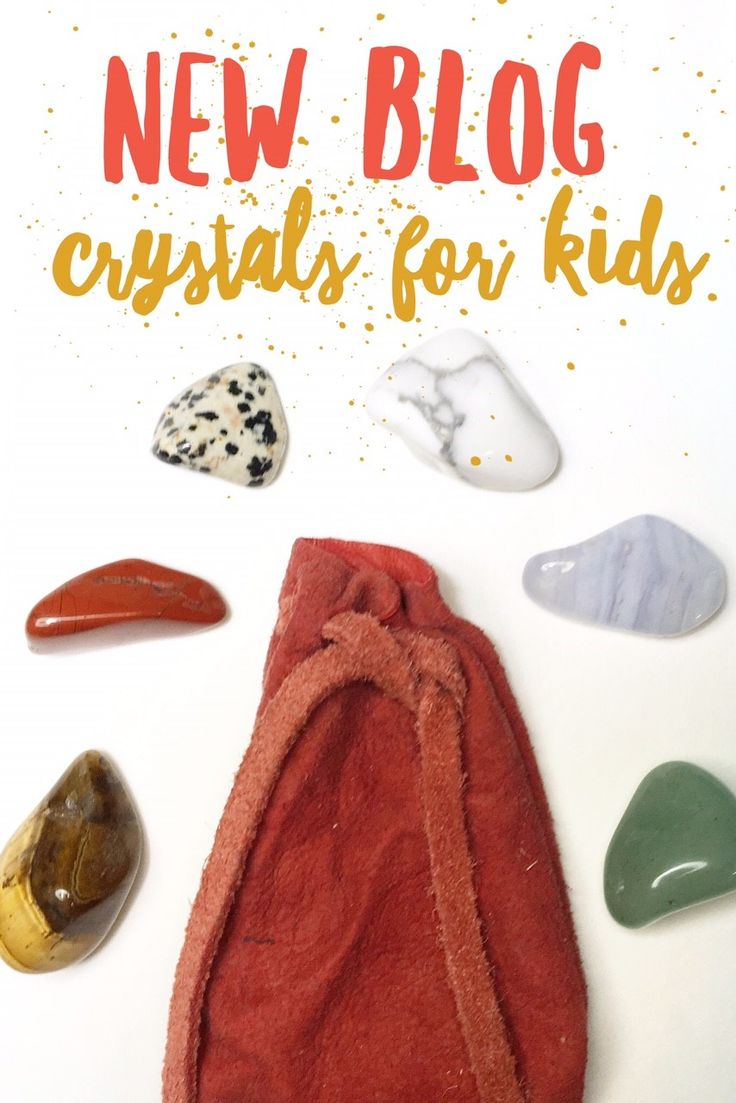Crystals for Kids       September 22, 2017     |     Jamie Lee R.                  I love supporting my kids with crystals! I find it absolutely fascinating how naturally intuitive and open children are to crystals. My boys are 3 & 5 and love playing with my crystals.