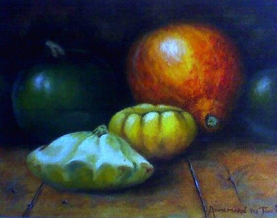 Oil: Annemarié van Lingen du Toit