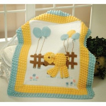 Baby Lamb Blanket - Baby Afghans & Blankets - Baby - Knit & Crochet