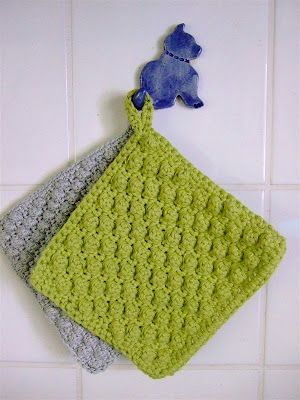 371 best # Potholder ✩ Topflappen ✩ Presine* images on Pinterest ... | {Topflappen 16}