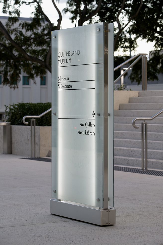 Queensland Museum | Minale Tattersfield Design Strategy Group #grafica  #design #segnaletica