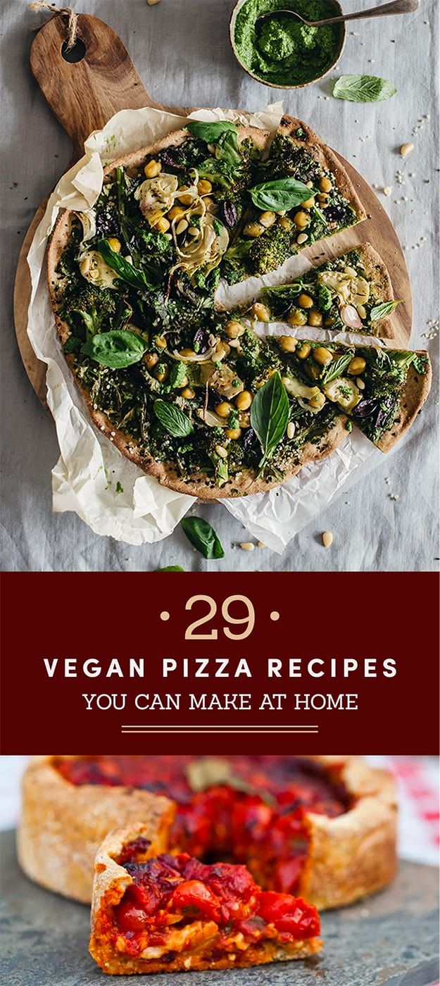 29 Vegan Pizza Recipes So Good You Won't Miss The Cheese