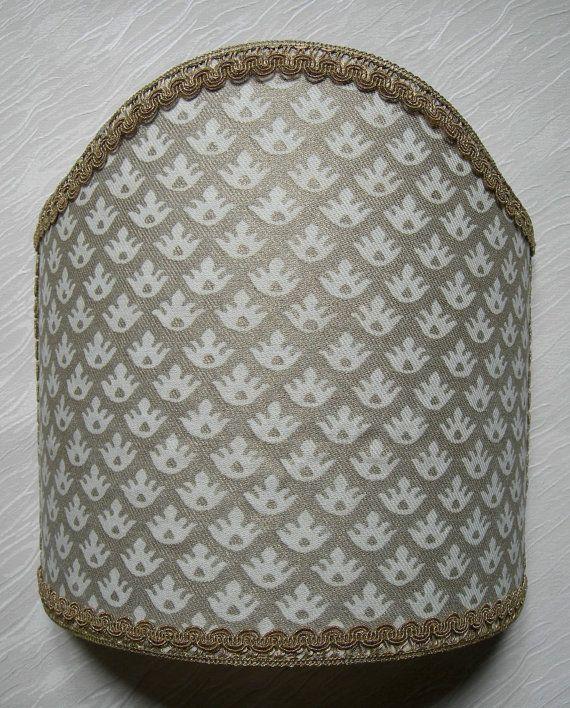 Wall Light Shield Shade in Fortuny Fabric by OggettiVeneziani, $149.00