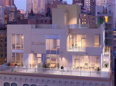 The new york penthouse condo for sale at 45 john street for Penthouses for sale in manhattan