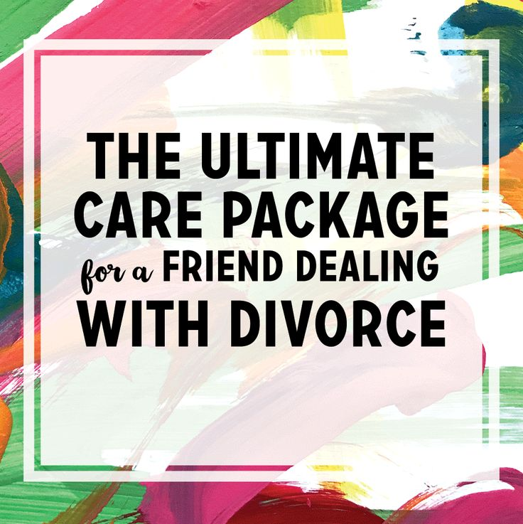 how to help someone going through a divorce