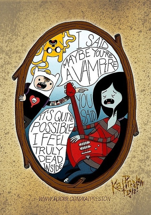 Alkaline Trio and Adventure Time! GAaah! too cool