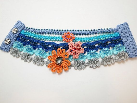 Pulsera de ganchillo - crochet bracelet