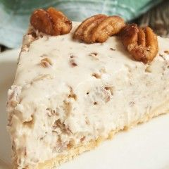 This Butter Pecan Cheesecake Will Make Your Thanksgiving Dinner More Exciting
