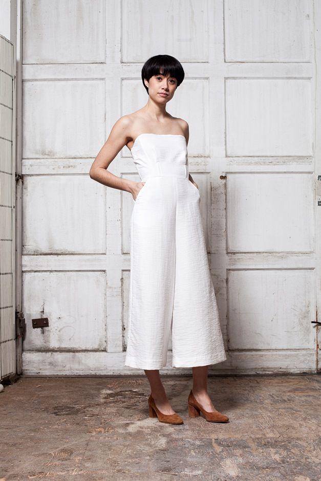 Image of Rachel Comey Summon Jumpsuit - white