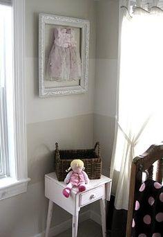 shabby chic nursery frame your little girls dresses, so cute! | best stuff