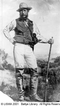 JOHN FORREST, W.A., looking the part.