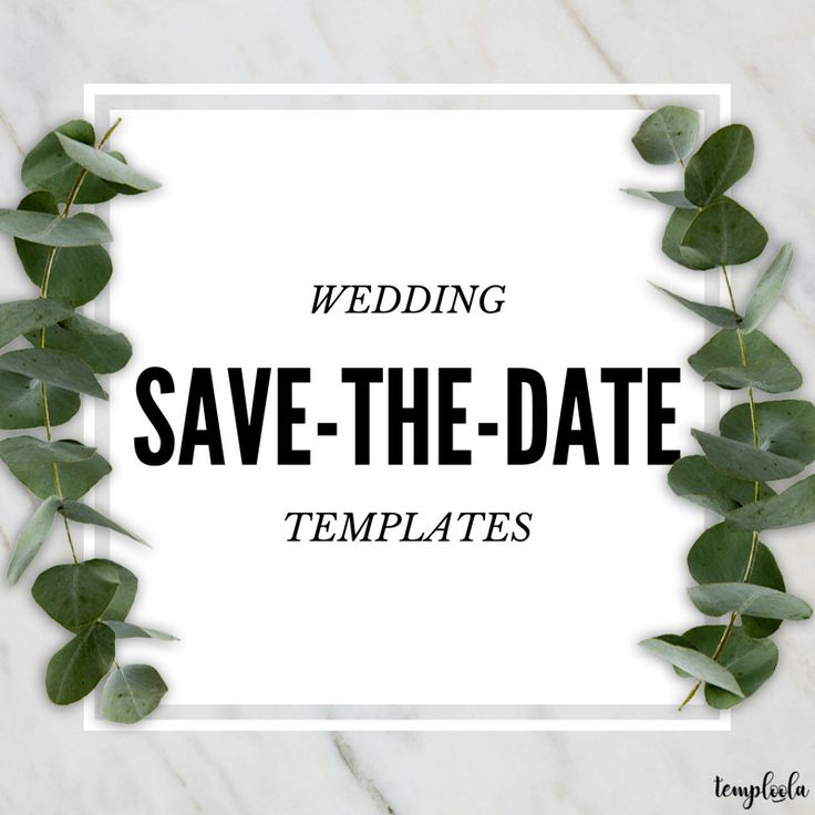 Best Wedding SaveTheDate Templates Images On