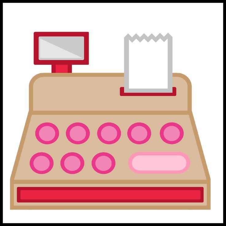 Kaartjes kiesbord - kassa - winkel