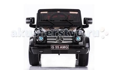 Barty Mersedes G-55 AMG (двери открываются)  — 19000р. ---------  Внедорожник с открывающимися дверями «G55 AMG» изготовлен по лицензии компании Mercedes-Benz, поэтому данная модель с её фирменными элементами отделки, хромированными вставками и отличной комфортной ездой соответствует реалистичности на 100%. Великолепный детский джип, по характеристикам проходимости - настоящий внедорожник!   Предназначен для детей от 3 до 6 лет.  Максимальная нагрузка - 30 кг.  Электромобиль с 2 двигателями…